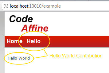 Hello World Contribution