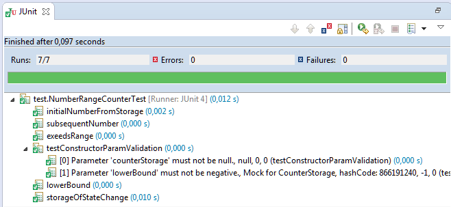 Test Runners: junit-params-test